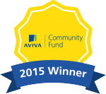 Aviva Community Fund winner badge 2015