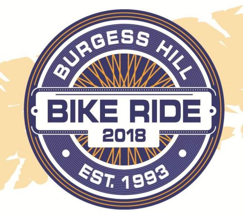 Burgess Hill Bike Ride 2018 Logo