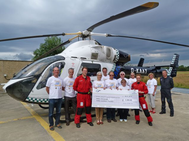 Presentation to Kent, Surrey and Sussex Air Ambulance